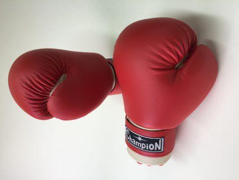 Перчатки для бокса Champion 10-12 красные с белым