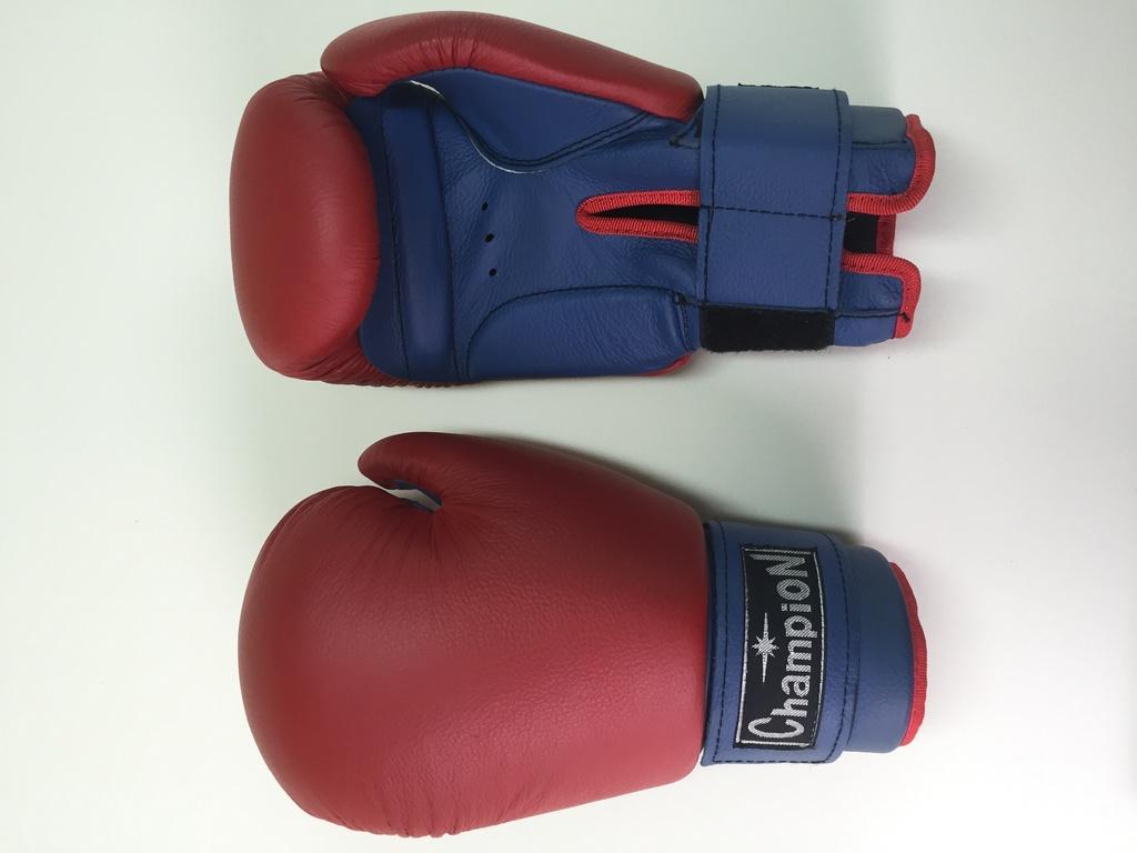 Перчатки для бокса Champion 10-12 красный с синим